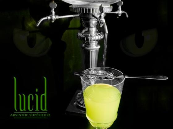 Lucid Absinthe fountain