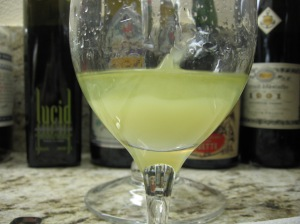Absinthe Louche close