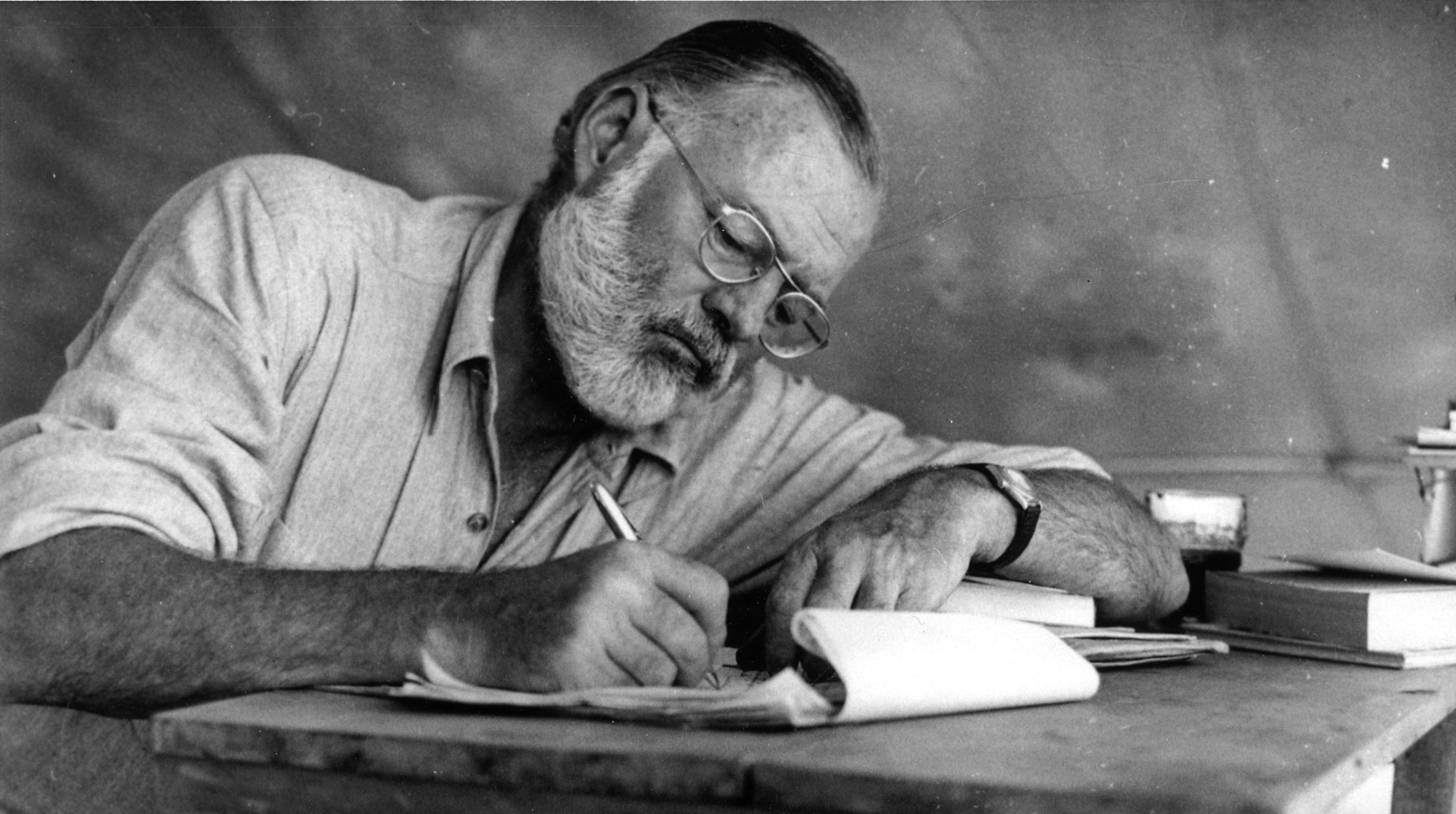 Ernest Hemingway and Absinthe