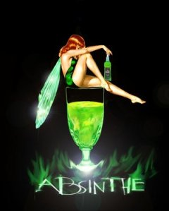 Green Absinthe Fairy