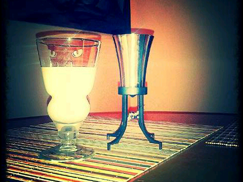 after work Lucid Absinthe with balancier