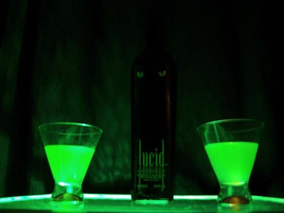 lucid absinthe green fairy