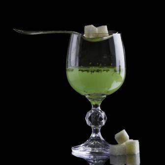 absinthe with sugar