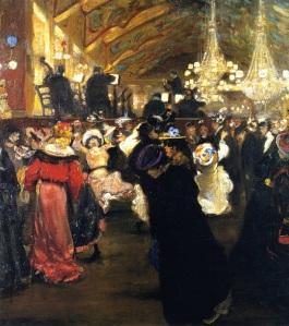 Alfred Henry Maurer - Le Bal au Moulin Rouge (1902-1904)
