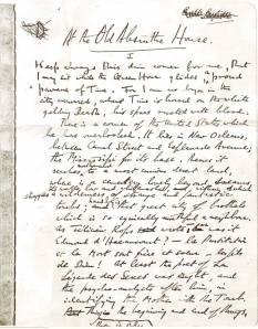 Crowley manuscript