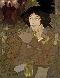 La Buveuse d'Absinthe (1896), Georges de Feure