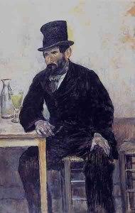 Le Buveur d'absinthe, 1880, François Raffaëlli
