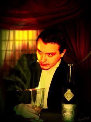 Le buveur d'absinthe, Hannecart Michelange