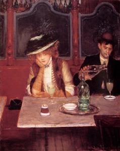 Les buveur d'absinthe by Jean Béraud
