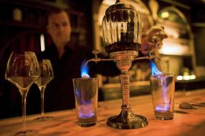 absinthe flaming fountain