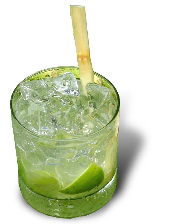 The Lucid Absinthe Caipirinha Cocktail