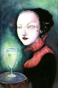 Absinthe_mistress by neshad