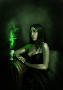 absinthe by RozennIlliano