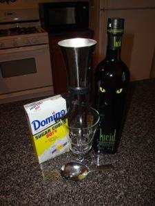 lucid absinthe with sugar