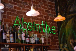 absinthe at bar