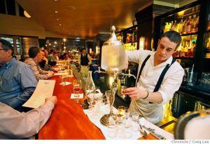 absinthe at bar