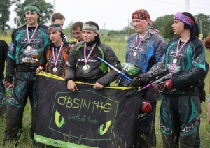 Absinthe paintball team