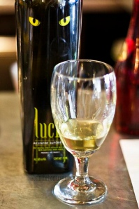 lucid absinthe in glass