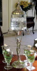 absinthe fountain and lots of sugar