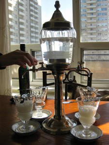 absinthe fountain drip and louche