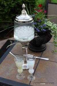 absinthe fountain outside