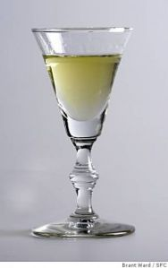 absinthe glass small