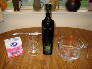 Lucid Absinthe and Pyrex