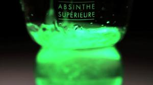 lucid absinthe green splash